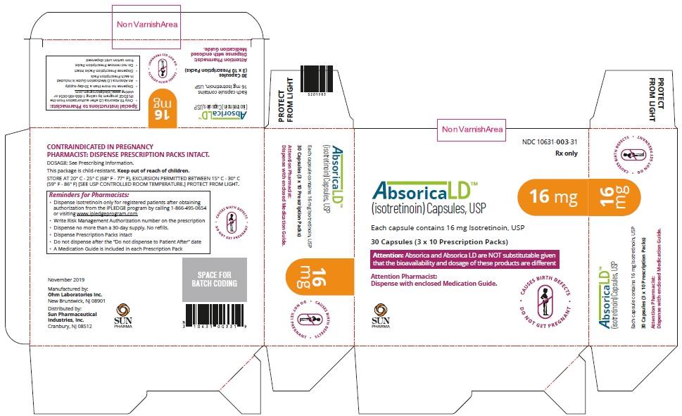 Absorica LD-16mg-Carton