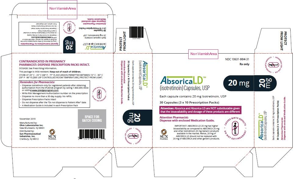 Absorica LD-20mg-Carton