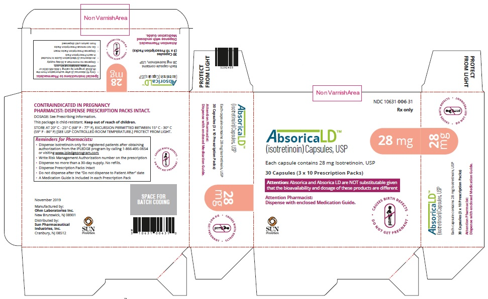Absorica LD-28mg-Carton