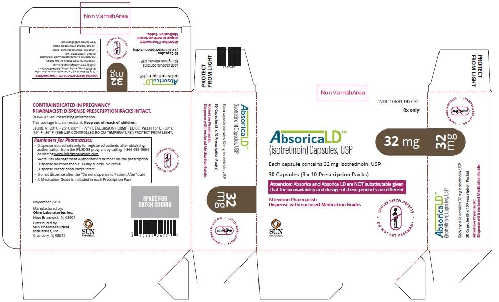 Absorica LD-32mg-Carton