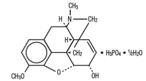 Chemical Structure_Codeine