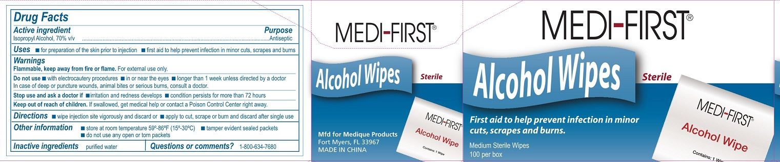 Medi-First AlcoholWipes
