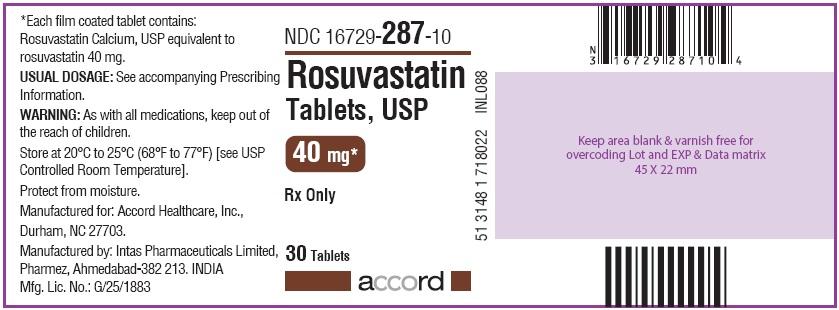 40 mg Bottle Label 30 tablets