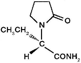 Molecular Structure-Levetiracetam