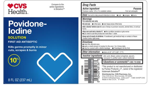 CVS Health Povidone- Iodine 8 FL OZ (237 mL)