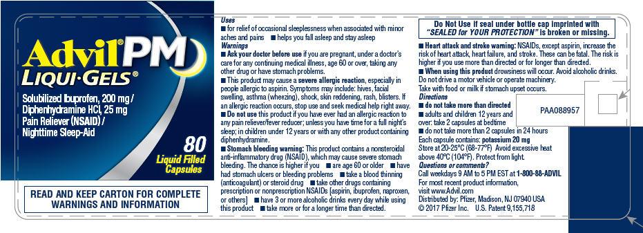 Principal Display Panel - 200 mg/25 mg Capsule Bottle Label
