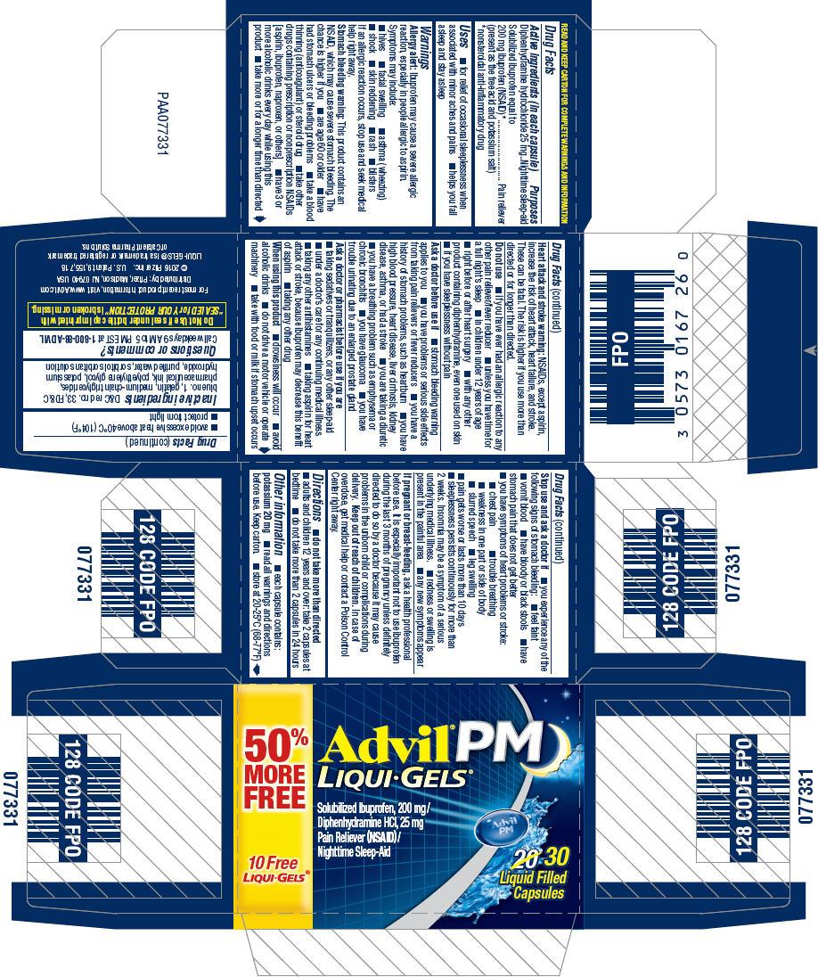 Principal Display Panel - 200 mg/25 mg Capsule Bottle Carton - NDC: <a href=/NDC/0573-0167-26>0573-0167-26</a>