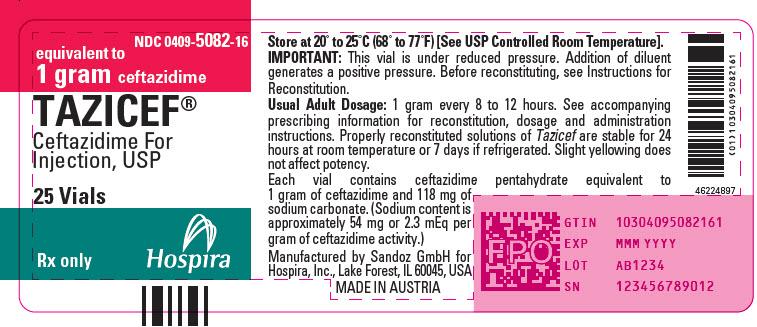 PRINCIPAL DISPLAY PANEL - 1 gram Vial Tray Label