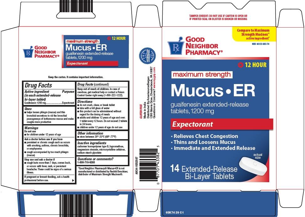 mucus ER image