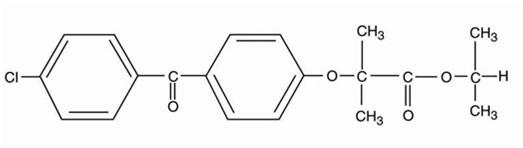 fenofibrate-structural-formula