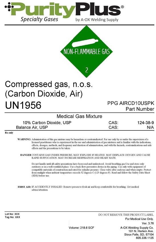air ninety carbon dioxide ten