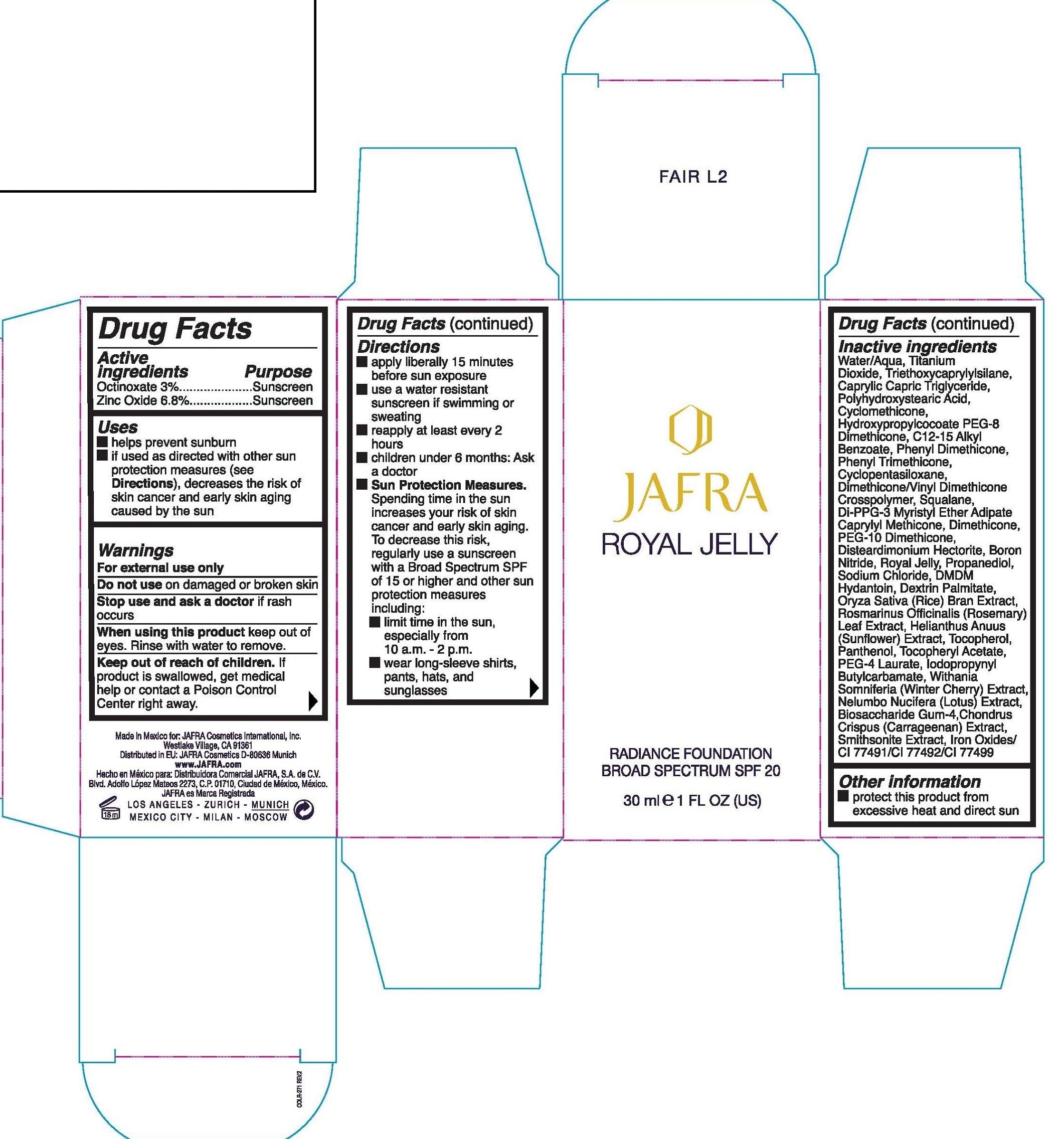 Royal Jelly. Label