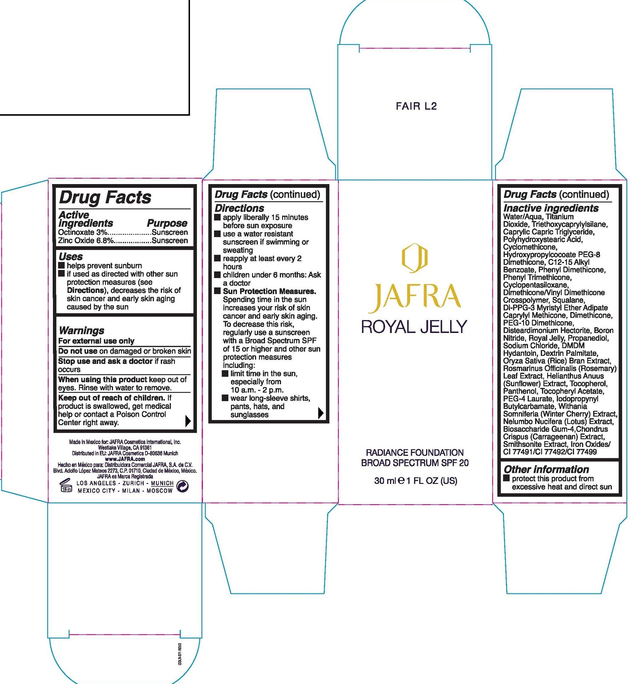 Royal Jelly Label