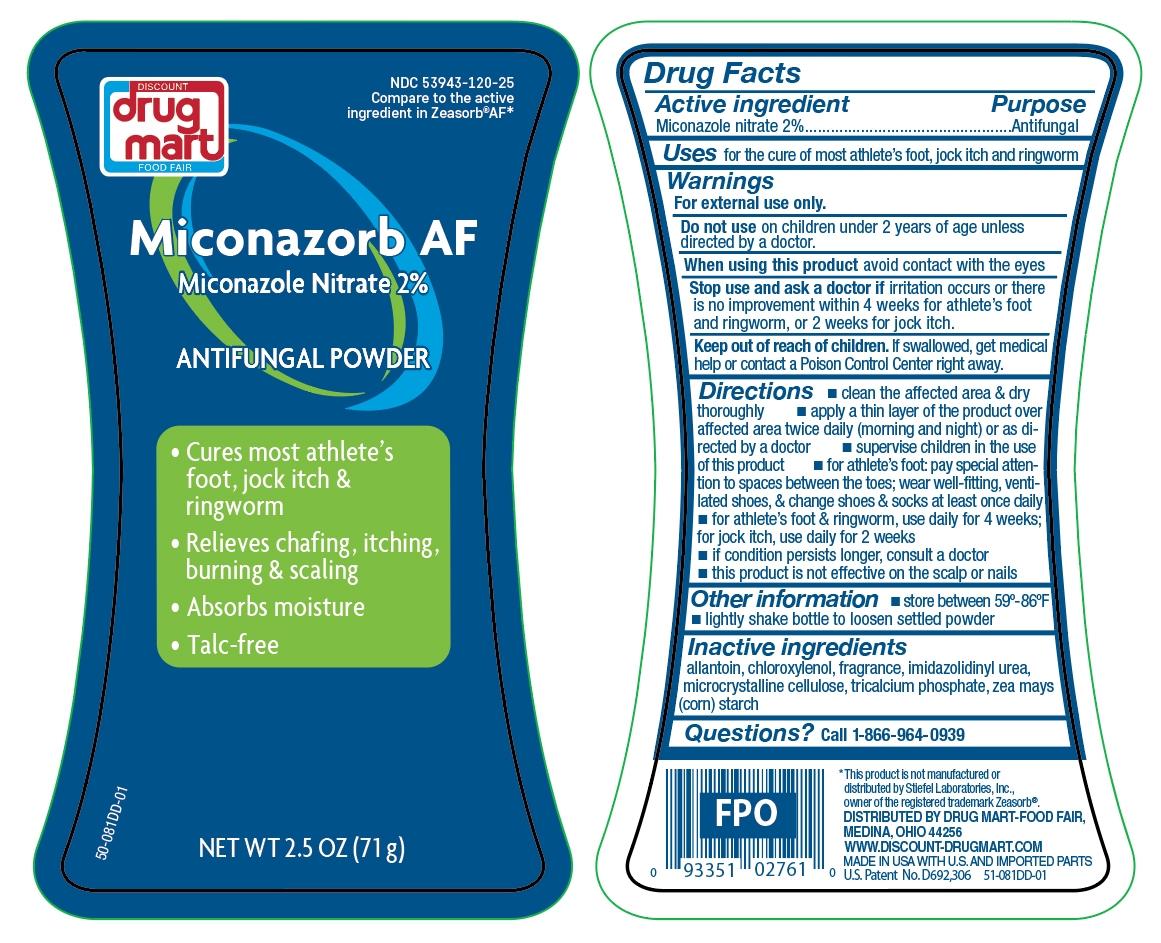 Miconazorb AF Powder Talc Free