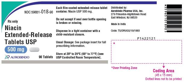 PACKAGE LABEL-PRINCIPAL DISPLAY PANEL - 500 mg (90 Tablets Bottle)