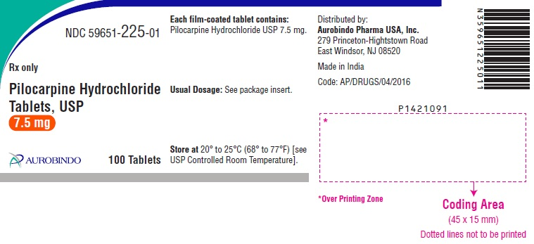 PACKAGE LABEL - PRINCIPAL DISPLAY PANEL - 7.5 mg (100 Tablets Bottle)