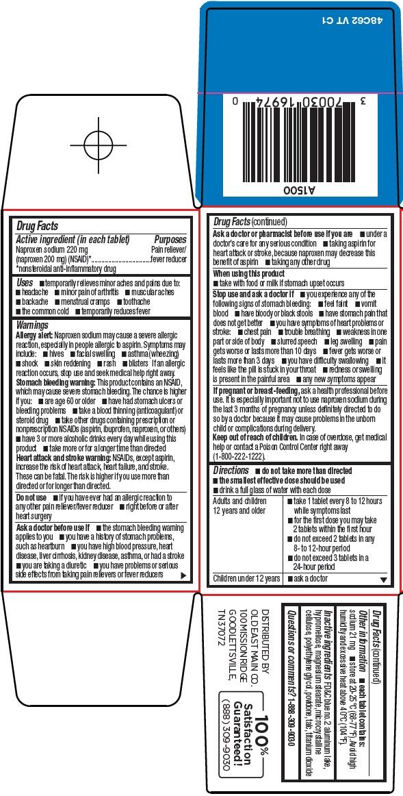 Naproxen Sodium Tablets, 220 mg Carton Image 2
