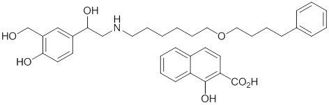 Salmeterol chem structure