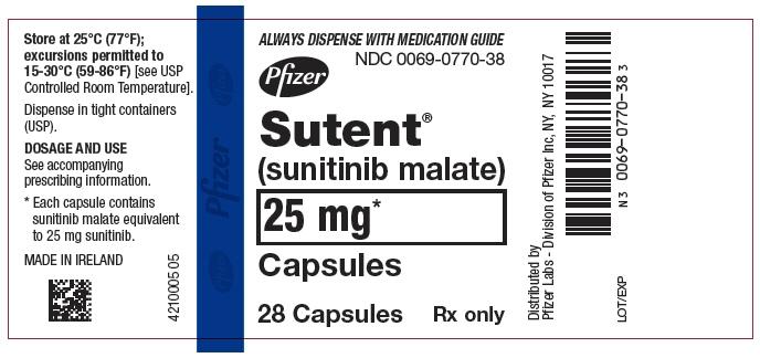PRINCIPAL DISPLAY PANEL - 25 mg Capsule Bottle Label