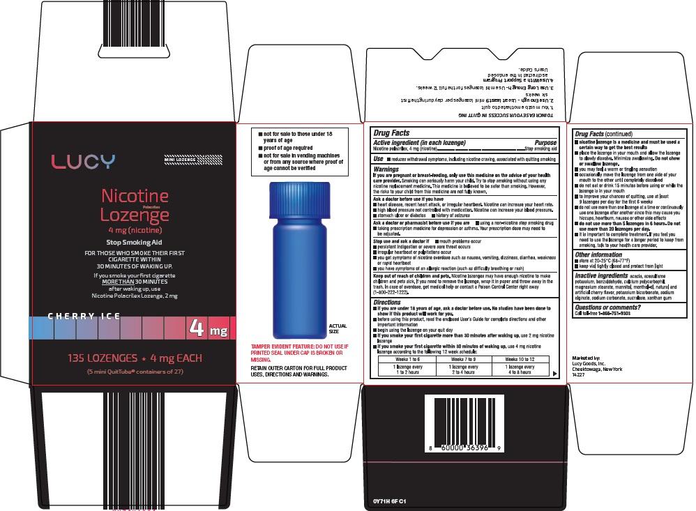 nicotine lozenge image
