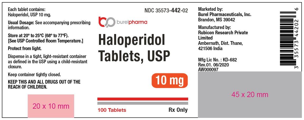 10 mg label