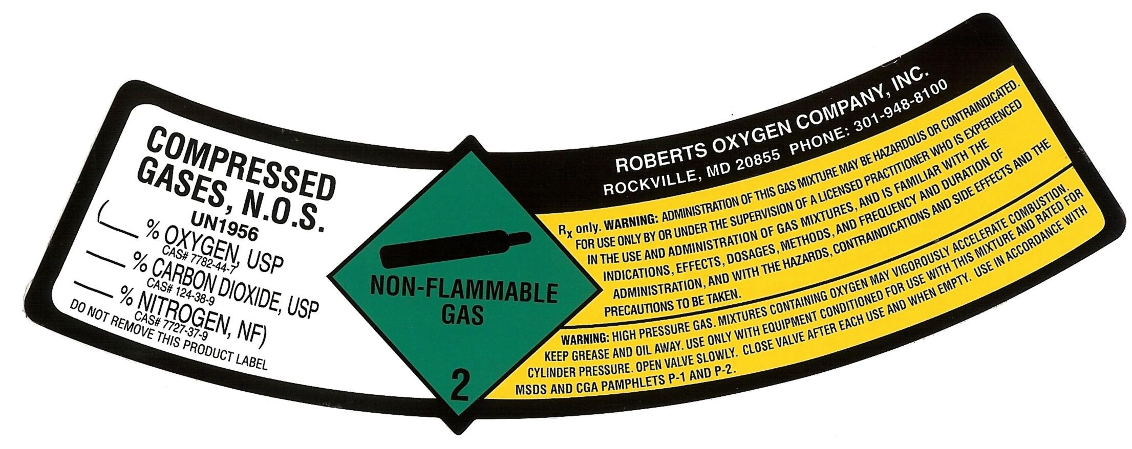 image of cylinder label