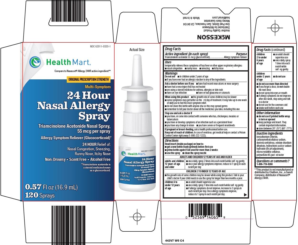 24 Hour Nasal Allergy Spray Carton