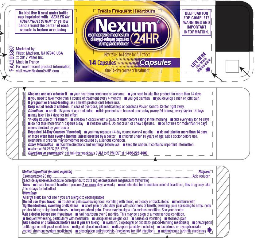 PRINCIPAL DISPLAY PANEL - 14 Capsule Bottle Label