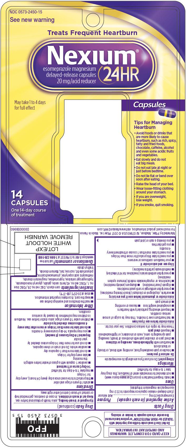 PRINCIPAL DISPLAY PANEL - 14 Capsule Bottle Blister Pack