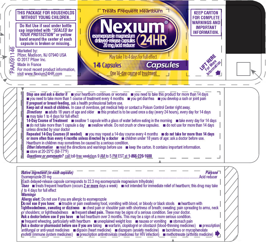 PRINCIPAL DISPLAY PANEL - 14 Capsule Bottle Label - NCR