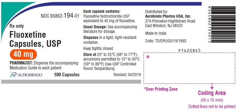 PACKAGE LABEL-PRINCIPAL DISPLAY PANEL - 40 mg (100 Capsules Bottle)
