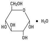 Dextrose structural formula