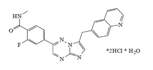 capmatinib structural formula