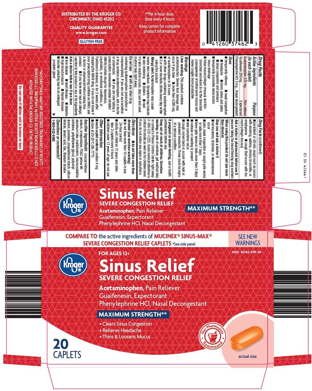 Kroger Sinus Relief