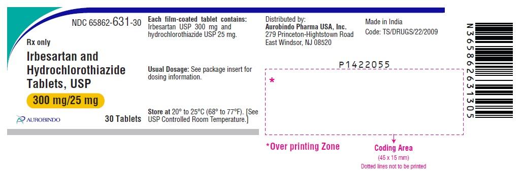 PACKAGE LABEL PRINCIPAL DISPLAY PANEL - 300 mg/25 mg (30 Tablets Bottle)