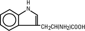structural formula Tryptophan