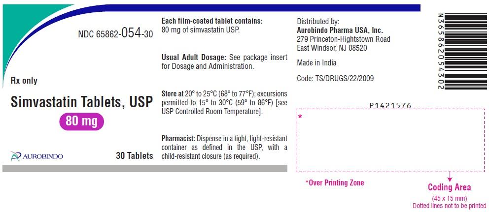 PACKAGE LABEL-PRINCIPAL DISPLAY PANEL - 80 mg (30 Tablets Bottle)