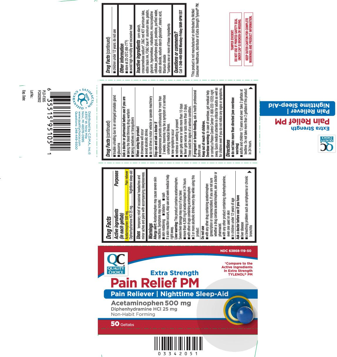 Acetaminophen 500mg Diphenhydramine HCI 25mg