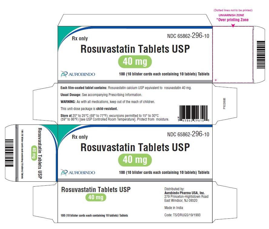 PACKAGE LABEL-PRINCIPAL DISPLAY PANEL - 40 mg Blister Carton (10 x 10 Unit-dose)