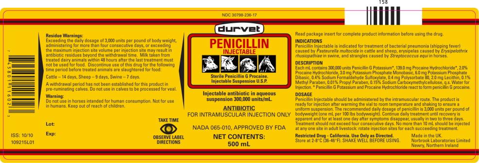 Principal Display Panel – 500 mL Vial Label