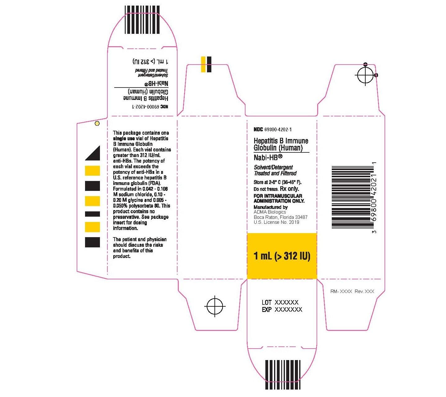 Nabi-HB Carton (1 mL)