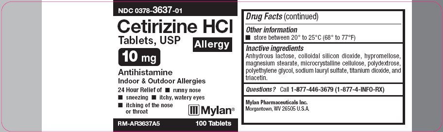 Cetirizine HCl Tablets, USP 10 mg Carton Label - Base Layer