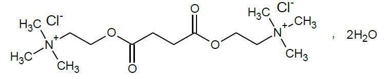 Succinylcholine Chloride Structural Formula