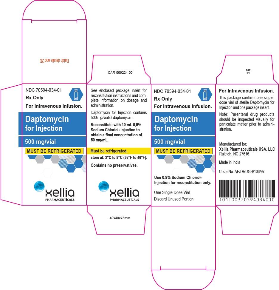 PRINCIPAL DISPLAY PANEL - 500 mg Vial Carton