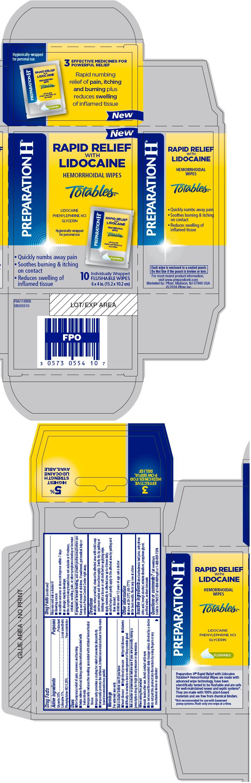PRINCIPAL DISPLAY PANEL - 10 Wipe Pouch Carton