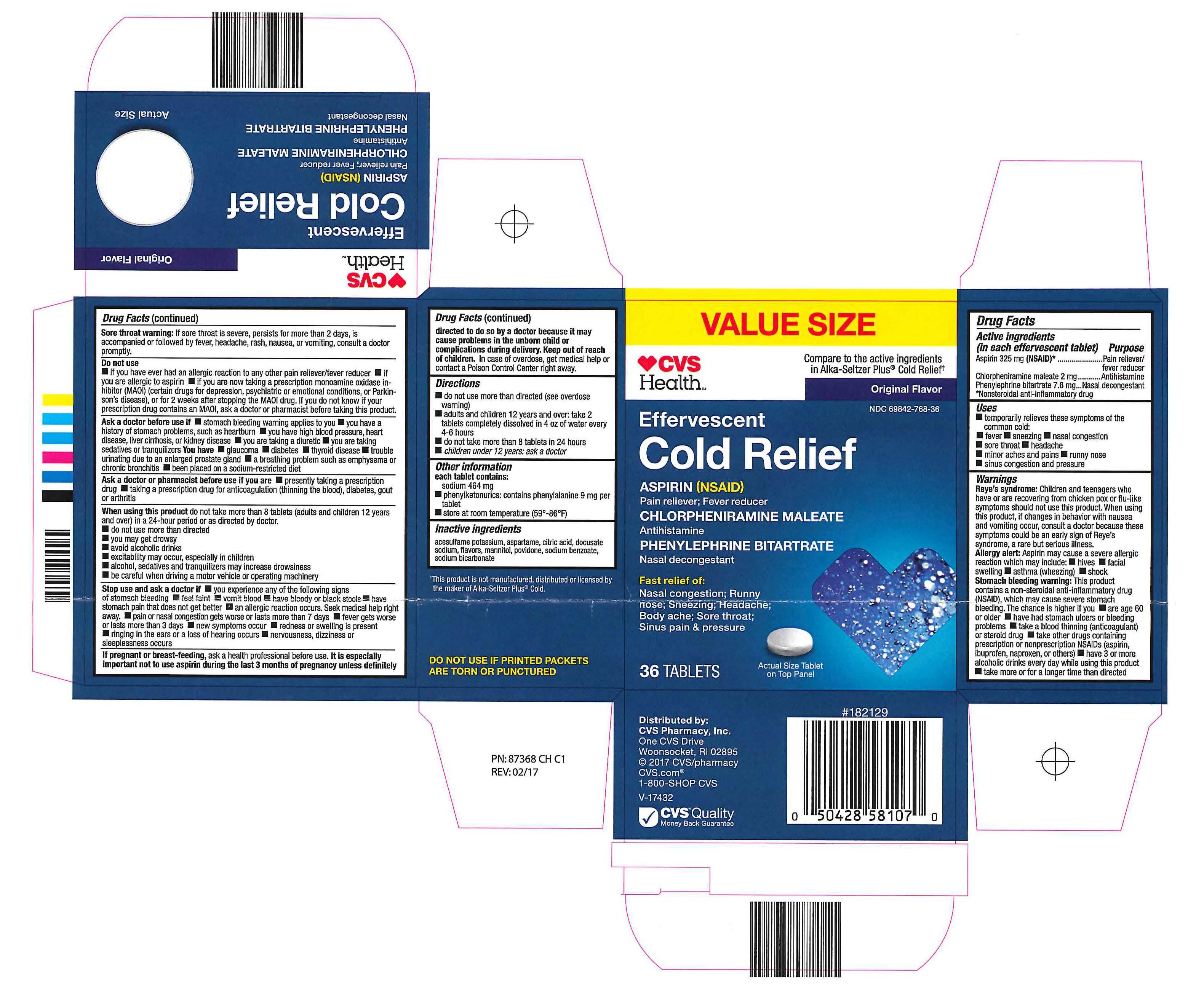 CVS Health Cold 36ct