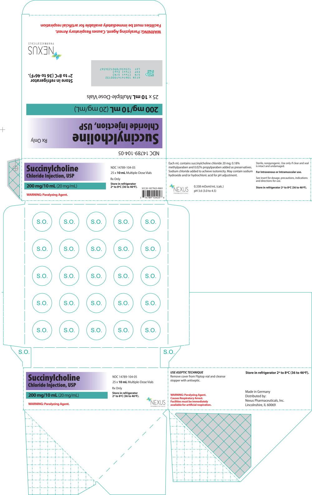 Principal Display Panel - 20 mg Carton Label
