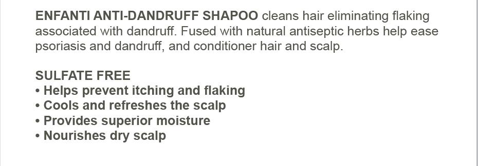 Enfanti Antidandruff Shampoo