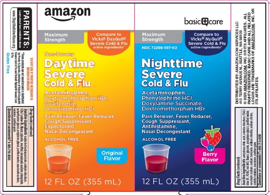 daytime nightime severe cold and flu image 1