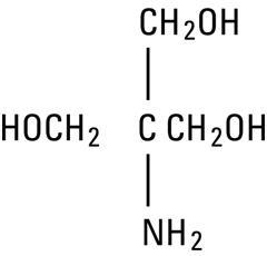 structural formula tromethamine